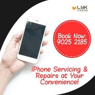 iPhone X Repair, iPhone LCD Screen Crack Replacement