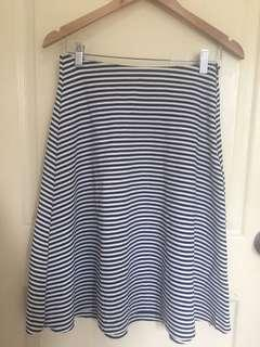 Pull & Bear Midi Skirt
