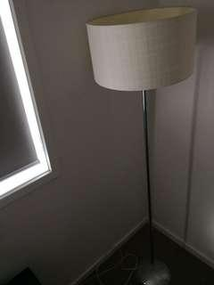 TALL Lamp stainless steal base!