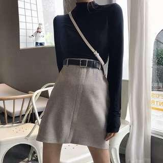 ✨PREORDER✨ Minimalistic A-line skirt