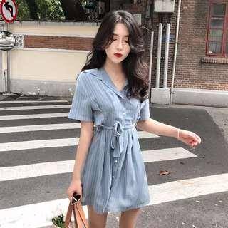 ✨PREORDER✨ Pinstriped dress