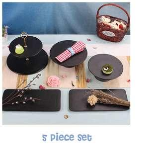 [For rent] Dessert Table Stand Tray Set.