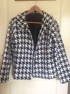 Textured Woven Coat