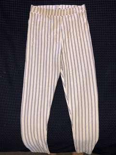 ASOS striped pants