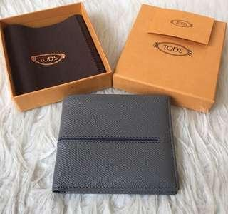 BNIB Tod's Tods men wallet dompet nuova foglio