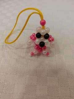 狗 mini珠掛飾