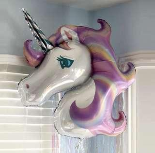 Big Unicorn party foil balloon [READY STOCK]