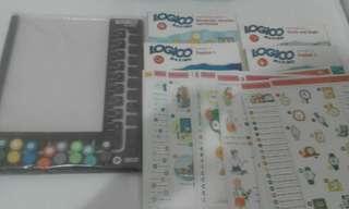 Logico Grolier educational books.