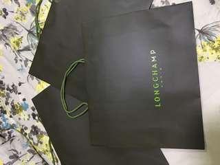 Longchamp Paper bags