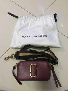 100% AUTHENTIC - Marc Jacobs Camera Bag Marron