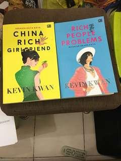Set buku China rich girlfirend dan rich people problems