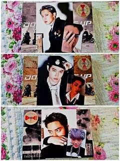 [WTT] EXO DMUMT Photocards (Chanyeol, Sehun, Kai, D.O.,  Suho)