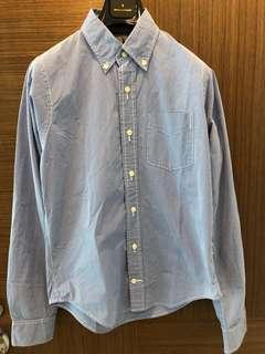 Indie brand Men's shirt Blue