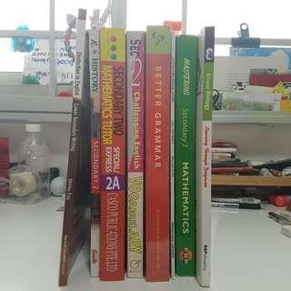 Assorted Assesment books