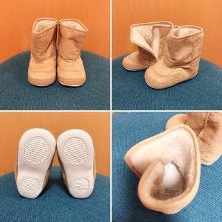 (包郵)BB毛毛保暖靴