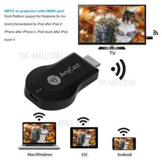 Tv dongle wifi receiver - anycast for laptop