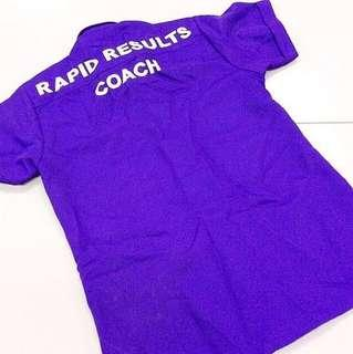 [FREE WITH ANY PURCHASE] Rapid Results Shirt.