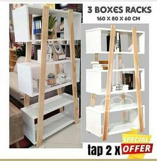 3 box racks promo