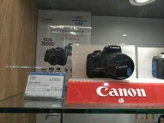 Kredit Camera Canon EOS 3000D, Tanpa Bunga Tanpa Kartu Kredit
