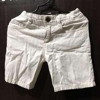 White soft shorts