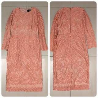 Doublewoot  Daxotinz Dress (Peach)