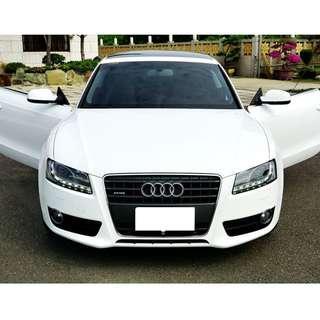 #Audi #A5 #Quattro #turbo #Coupe #奧迪 #豪車 #雙門4人座 #板橋小蝶實價認證車