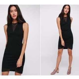 Lovebonito Glonaz Mesh Dress in black - Size XS