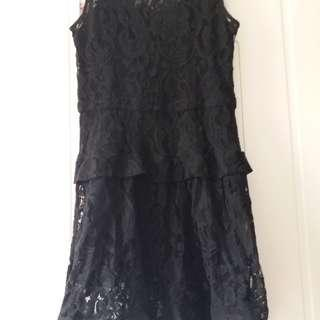 soft lace dress
