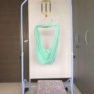 Automatic baby cradle yao lan (full set)