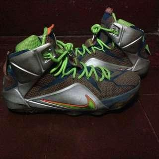 "Lebron 12 ""TRILLION DOLLAR MAN"" SIZE 12"