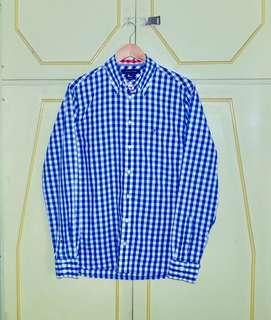 Authentic Tommy Hilfiger Gingham Custom Fit Button Down