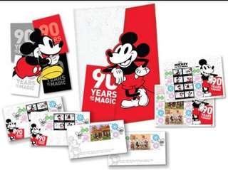 Mickey Mouse Stamps Folder Set