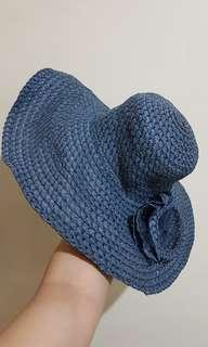 Blue Floppy Hat