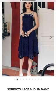 BNWT Fashmob sorento lace midi dress