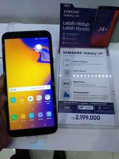 Promo Bunga Bisa 0% Samsung Galaxy J4+ 32GB