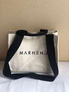 Marhen J Rico bag Ivory Medium waterproof bag
