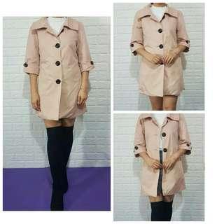 YLYiba Blush Coat