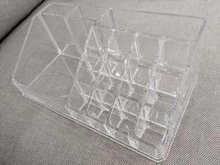 Transparent Makeup Organiser
