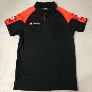 Lotto 足球裁判衫(黑色)球證衫