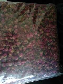 $80 for 2KG rose buds (china)