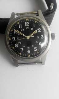 Benrus Military Watch DTU-2A/P MIL-W3818B 1965年越戰軍錶