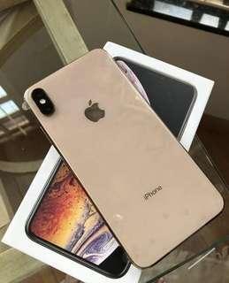 Iphone XS MAX 256GB Gold Bisa Cash dan Kredit Proses Cepat
