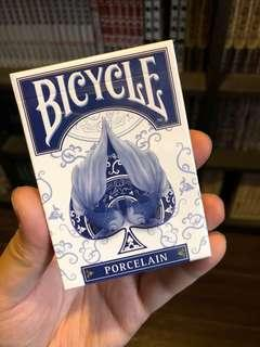 Bicycle Playing card porcelain 啤牌