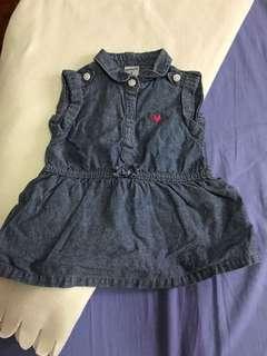 Carter's maong dress