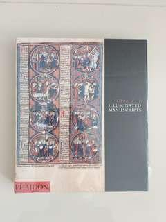 Thick Book on A History of Illuminated MANUSCRIPTS