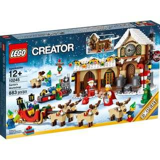 現貨 全新 LEGO 10245 - Winter Village Santa's Workshop (屯門交收)