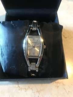 Original Anne Klein silver watch