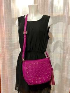 NINE WEST Purple Crossbody Bag