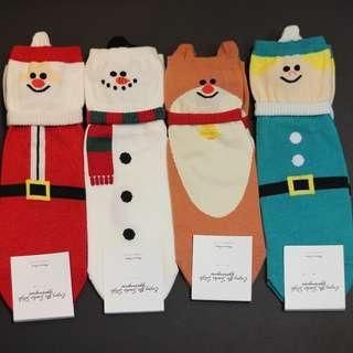 Christmas socks - Cute Character