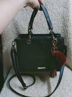 authentic anne klein two way satchel bag not mk ,coach ,ks, kpling,lv